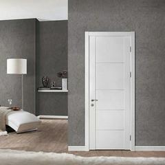 欧式烤漆贴皮门 室内门 实木复合制造(含门套)