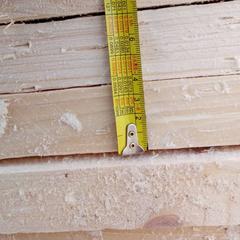 白松板材预售 35*150 新材加工