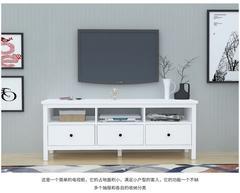 1.5米北欧电视柜茶几组合简约现代小户型客厅卧室1.2白色