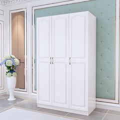 欧式卧室衣柜实木质简约现代经济型