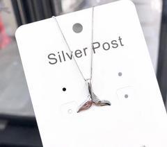 925银动物系列-鲸鱼尾巴