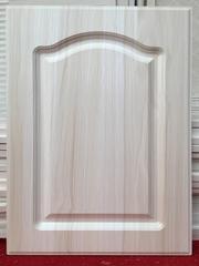 欧式直角橱柜门PVC吸塑门板免漆板